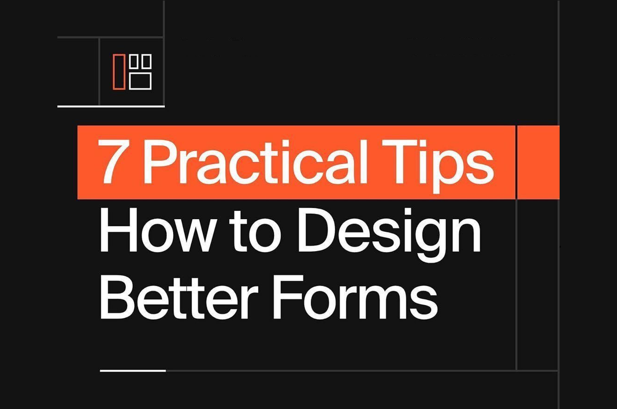 Anteelo Design 7 ways to design better forms